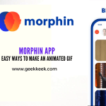 Morphin APP easy Ways To Make An Animated GIF