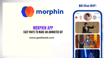 Morphin APP easy Ways To Make An Animated GIF