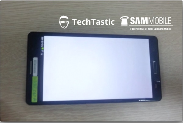 Samsung Galaxy Note 3 Leaked Image