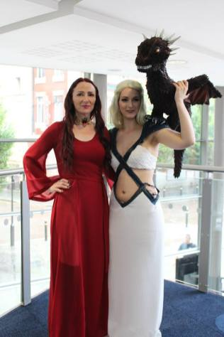 Melisandre and Daenerys © Sophie Brown