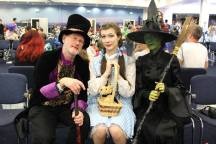 Oz, Dorothy, and Elpheba © Sophie Brown