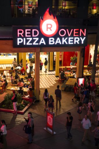 Red Oven Pizza Bakery Image courtesy of Universal Orlando