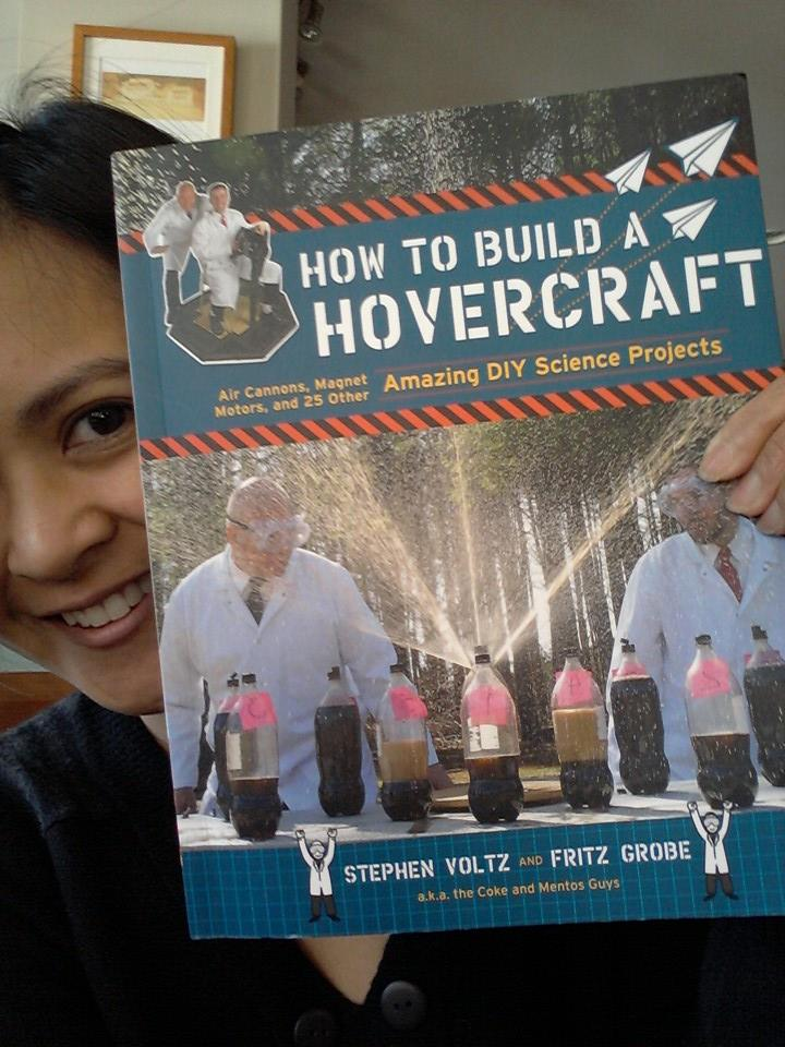 How to Build a Hovercraft. Photo by Julie Tiu.