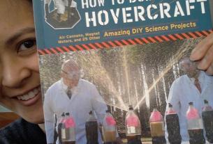 How to Build a Hovercraft. Photo by Julie Tiu.