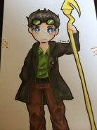 Chibi Jack Knight by @taintedsweets.