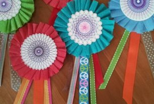 DIY Paper Award Ribbons