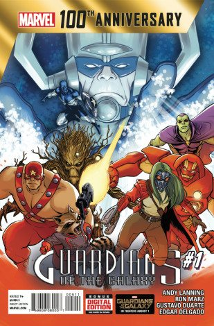 Guardians of the Galaxy: 100th Anniversary Issue  Image: Marvel