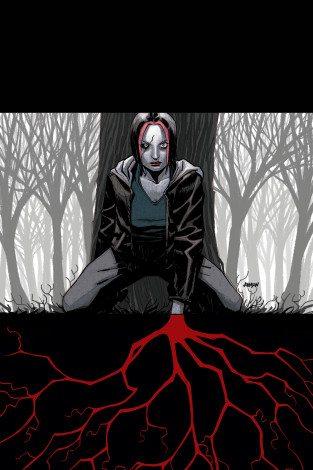 Coffin Hill #3 cover, Copyright Vertigo Comics.