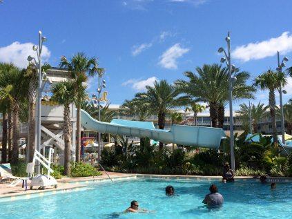 Main Pool Slide