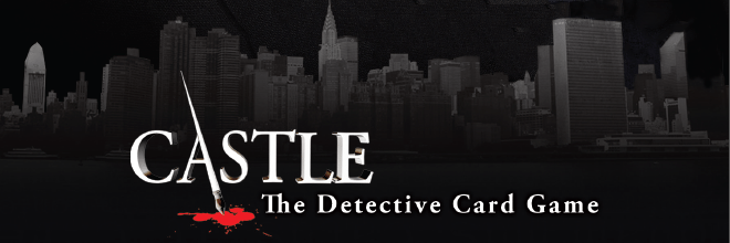 Castle: The Detective Card Game © Cryptozoic