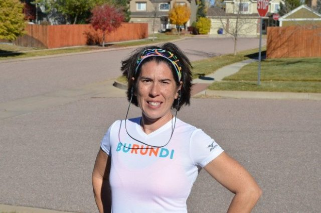 I'm ready to race -- in the convenience of my own neighborhood! Photo: Dave Vollmer.