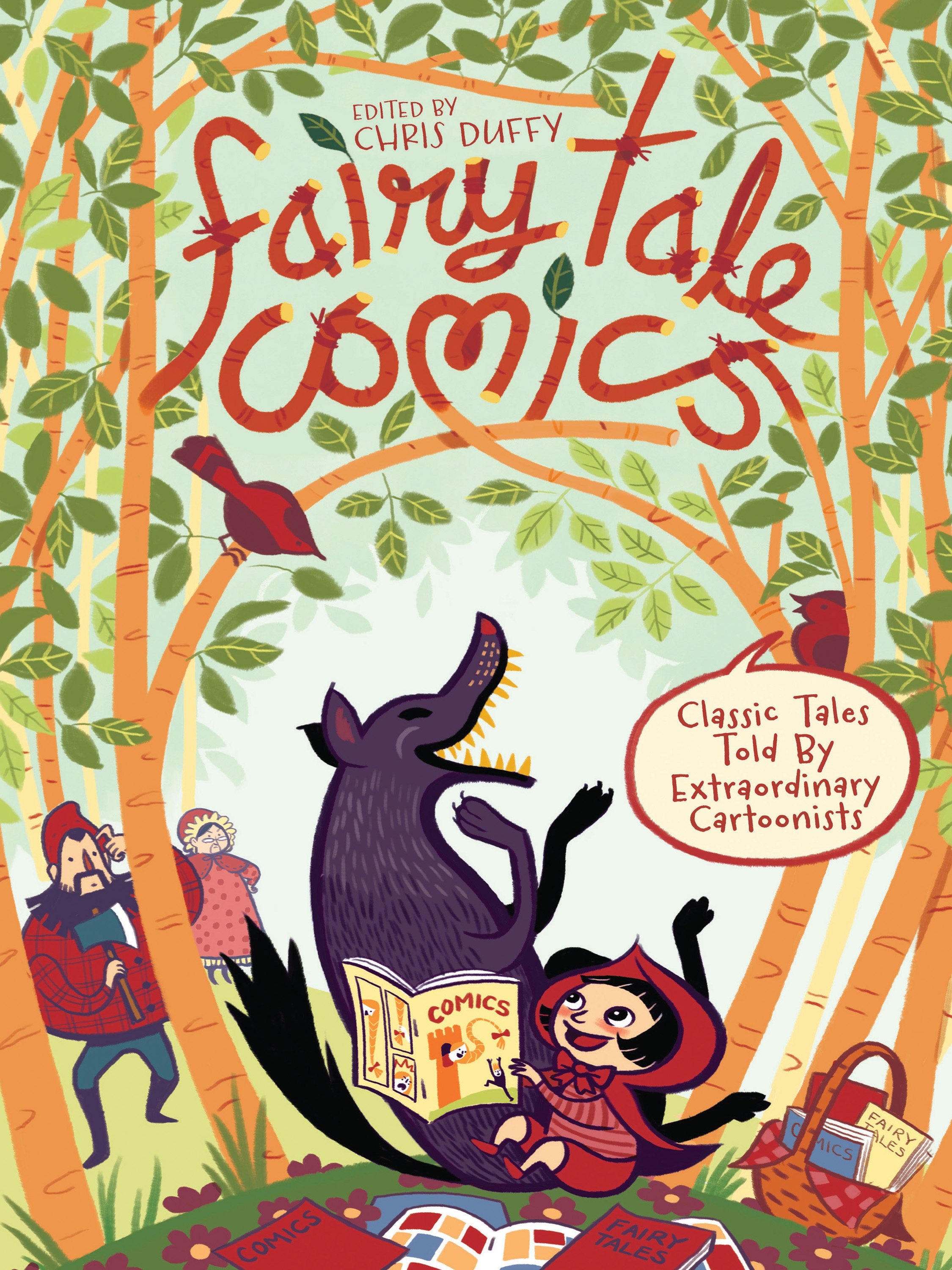 Fairy Tale Comics cover