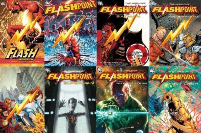 Flashpoint Cover Art  Images: Copyright DC Comics