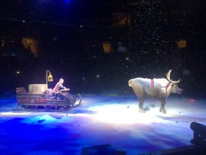 Kristoff and Sven were a highlight of the evening. Image: Dakster Sullivan