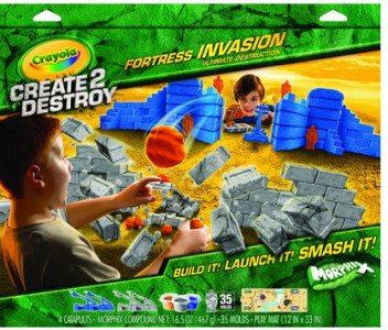 Crayola Create 2 Destroy Fortress Invasion. Image: Amazon.com