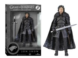 The Jon Snow Legacy Action Figure is 6 inches tall and comes with his sword, Longclaw. Image: Funko.