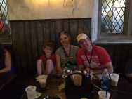 Group picture at Leaky Cauldron, Image Dakster Sullivan