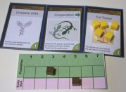 Traits on a species. The Fat Tissue card allows a player to have food stored for emergencies. Image Cathe Post