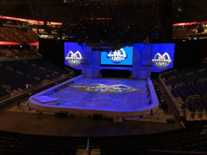 The stage is set. Image: Dakster Sullivan