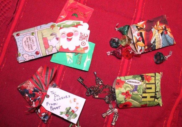 gift pockets