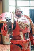 Space Marine costume. Photo by Debadeep Sen.