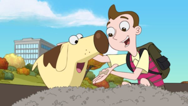 """MILO MURPHY'S LAW - """"Going the Extra Milo"""" - """"Milo Murphy's Law"""" is an animated comedy adventure series that follows 13-year-old Milo Murphy, the fictional great-great-great-great grandson of the Murphy's Law namesake. Milo is the personification of Murphy's Law, where anything that can go wrong, will go wrong. The series premieres on Monday, October 3 (8:00 p.m., ET/PT) on Disney XD. (Disney XD) DIOGEE, MILO"""