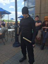Daredevil. I also spotted his civilian identity the next day.