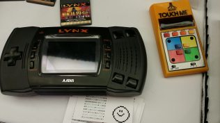 The Touch Me, one of Atari's few handheld units, was the inspiration for the game Simon. CC-BY-SA Ruth Suehle