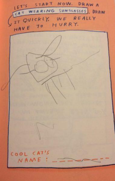 c. S.W. Sondheimer art by Z, age 4