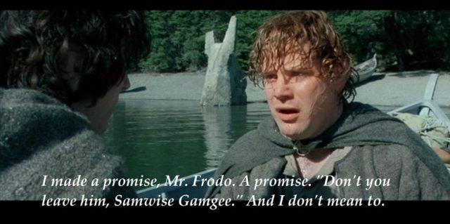Samwise Gamgee, Enneatype Six
