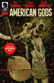 American Gods variant covers