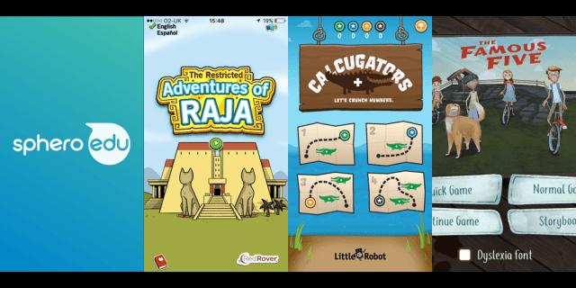 Apps for Older Kids, Image Sphero/Red Rover/Little 10 Robot/Kuato
