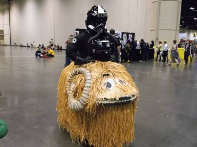 Bantha ride anyone? Image: Drgnfly 5931 Used with permission