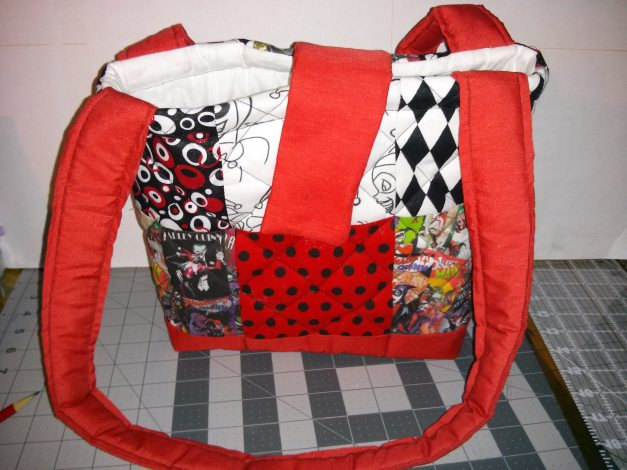 Harley Quinn Bag by Odd Duck Studios, image via ODS