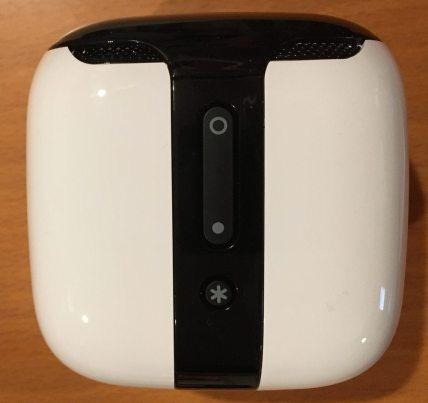 One side of the device. Photo: Jenny Bristol