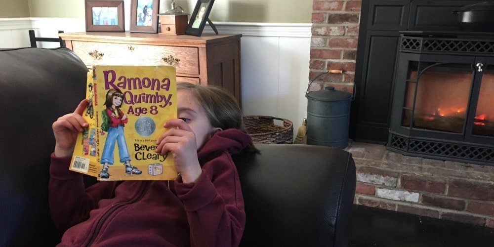 read aloud, beverly cleary, ramona quimby, homeschool, homeschooling, parenting, books, Drop Everything and Read