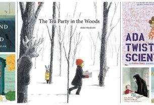 My Favorite Read Alouds this month. Image credit: Ariane Coffin