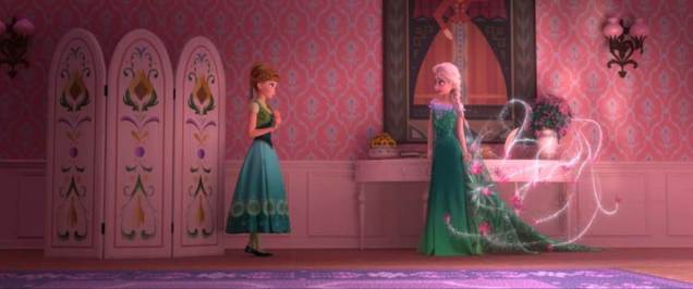 Anna and Elsa. Photo: © Disney. All rights reserved.