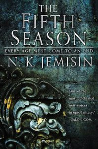 the cover of NK Jemisin's The Fifth Season