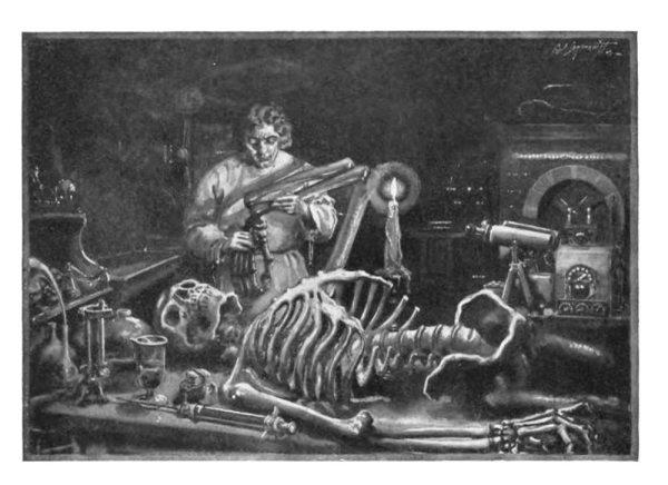 Frankenstein biology science horror