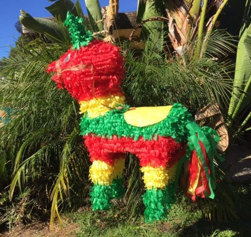 Who doesn't live piñatas? Enter today to win this for your next party! Photo: Angelica Juarez, used with permission.