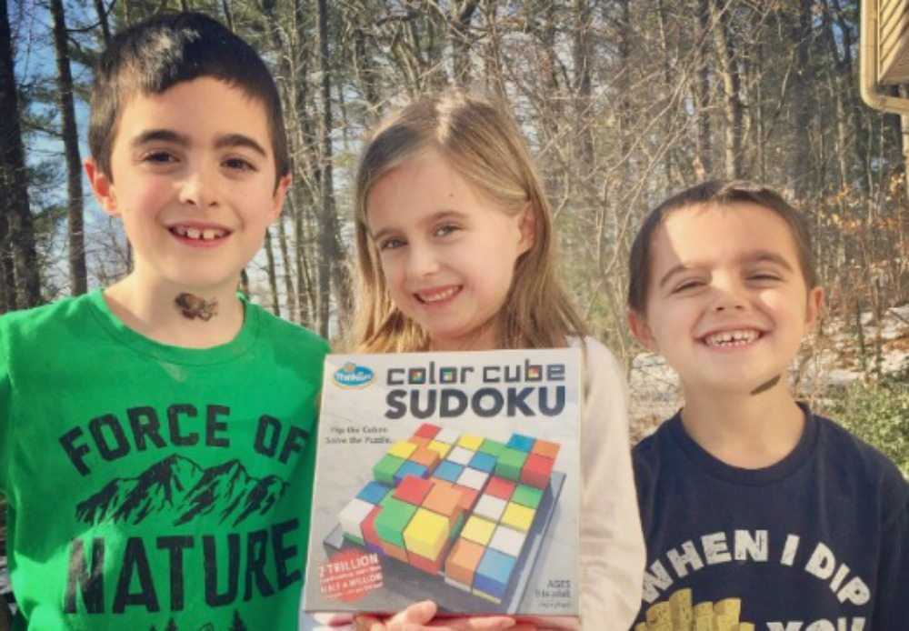 Color Cube Sudoku is Perfect for Sudoku Fans | Caitlin FItzpatrick Curley, GeekMom