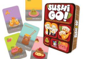 Sushi Go!  Image Gamewright