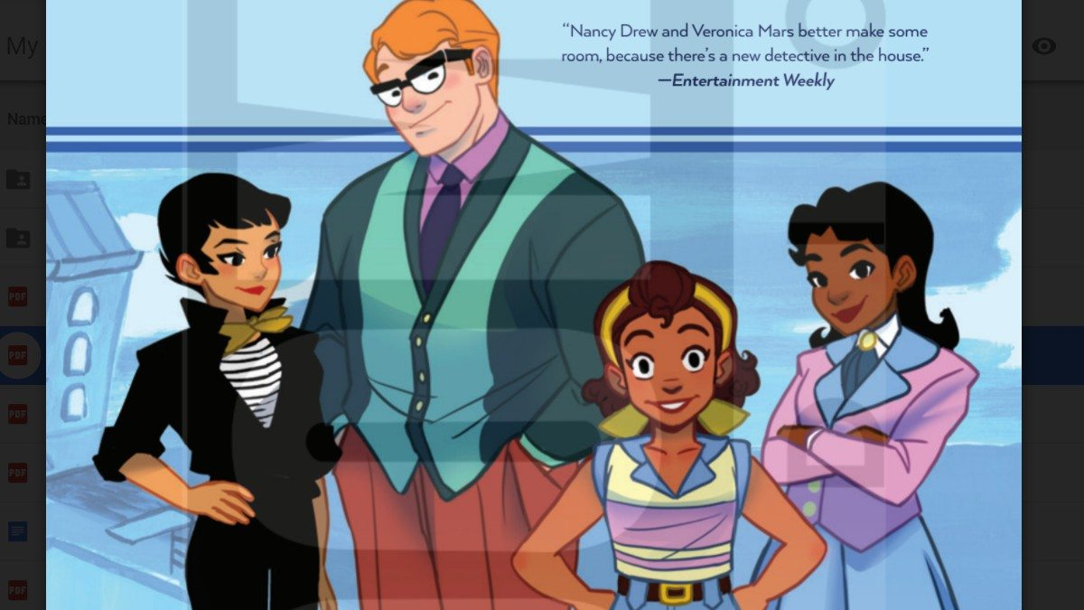 Goldie Vance cover Volume 2