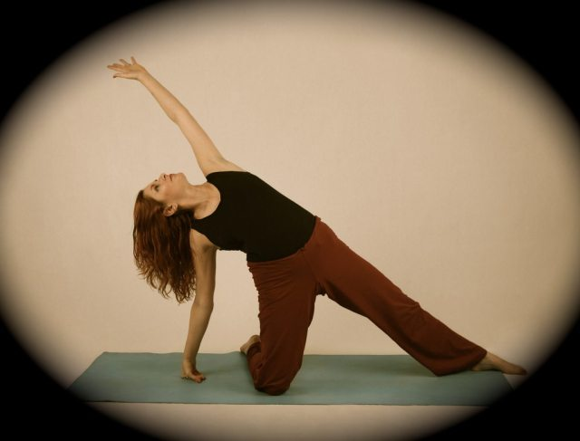 Hunger games yoga pose