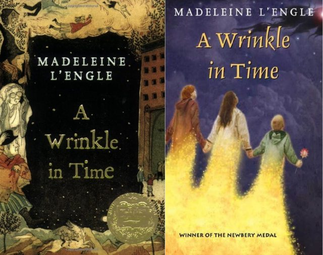 Square Fish 2007 editions of A Wrinkle in Time by Madeleine L'Engle