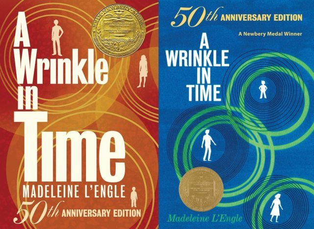 50th Anniversary Editions of A Wrinkle In Time