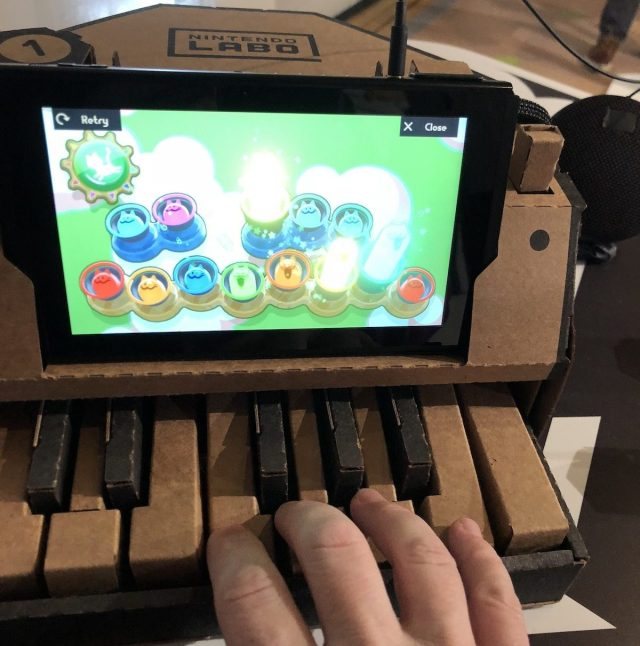 Nintendo Labo Piano kit