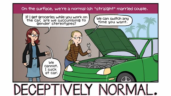The Secret Loves of Geeks Panel 2, Image: Dark Horse Comics