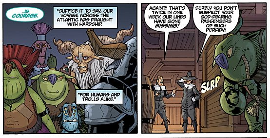 Trollkind Panel, Image: Dark Horse Comics